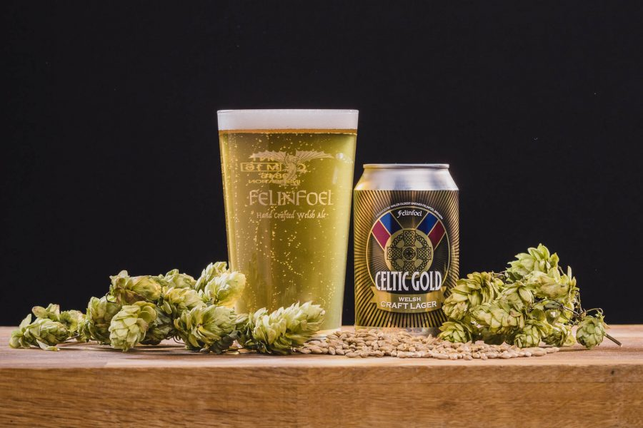 Felinfoel Brewery Celtic Gold Craft Lager