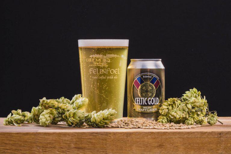Felinfoel Brewery Celtic Gold Craft Lager