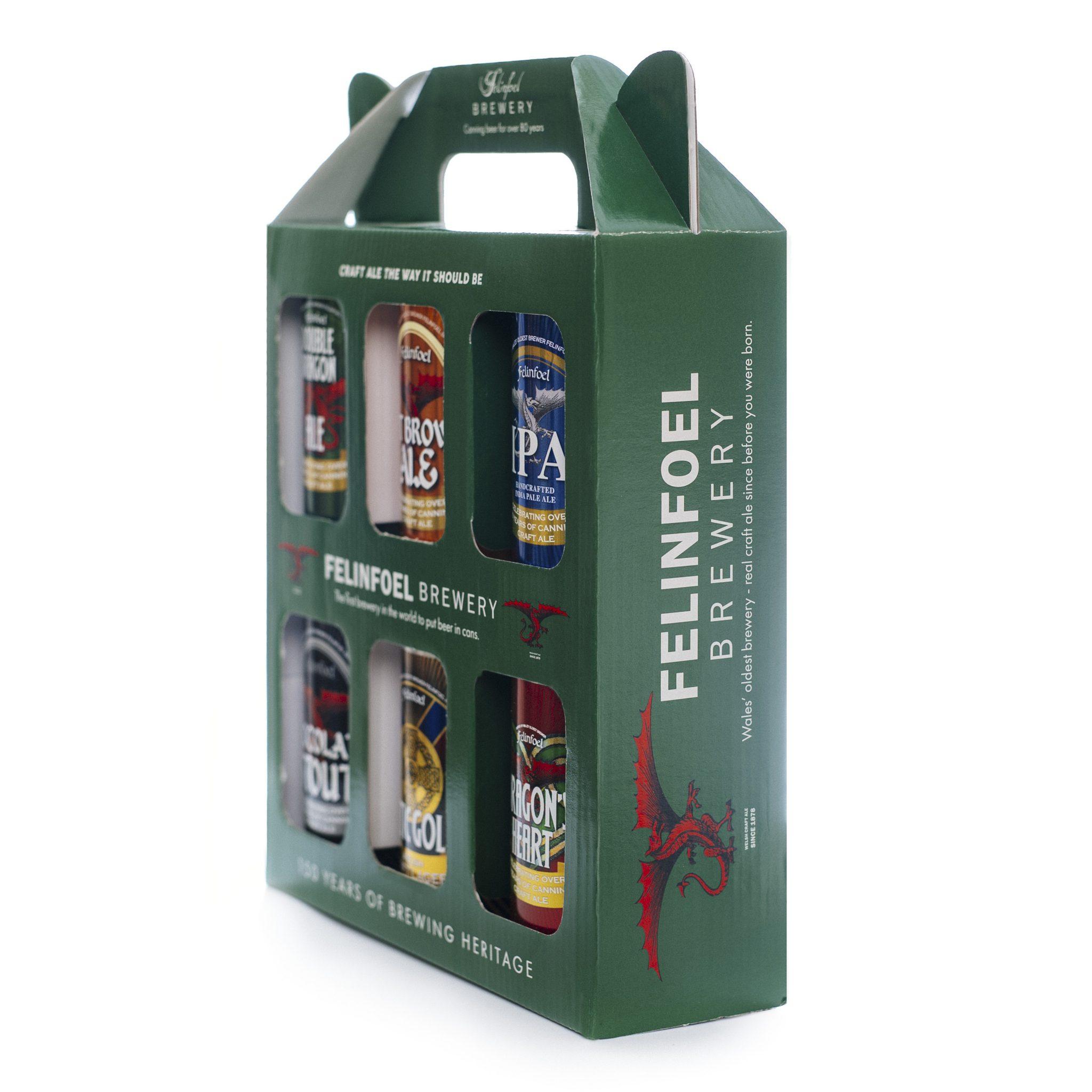 Craft beer gift box - Felinfoel Craft Ale Gift Box