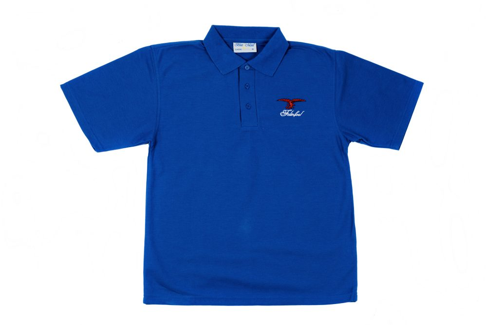 Felinfoel Brewery Polo Shirt Royal Blue