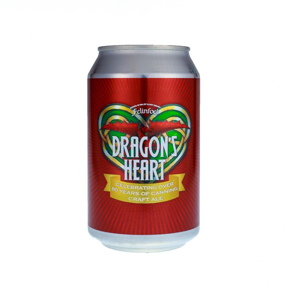 Dragon's Heart Felinfoel Craft Ale