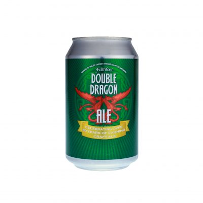 Double Dragon Craft Ale Can