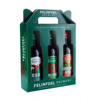 Felinfoel 3 Bottle Craft Ale Gift Pack