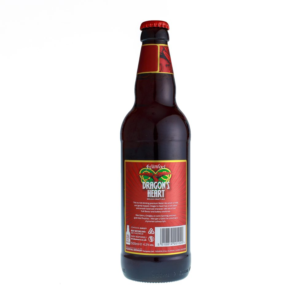 Felinfoel Dragon's Heart Craft Ale Bottle