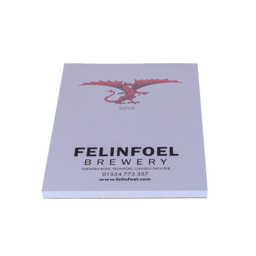 Felinfoel Notepad and Pens