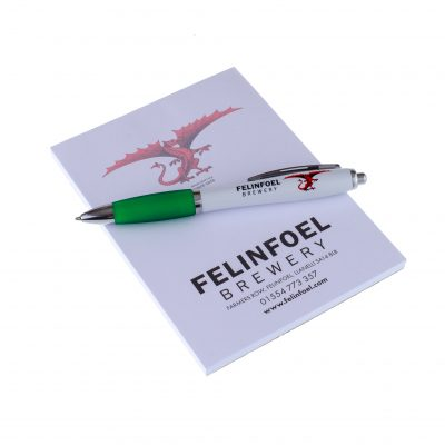 Felinfoel Notepad and Pens
