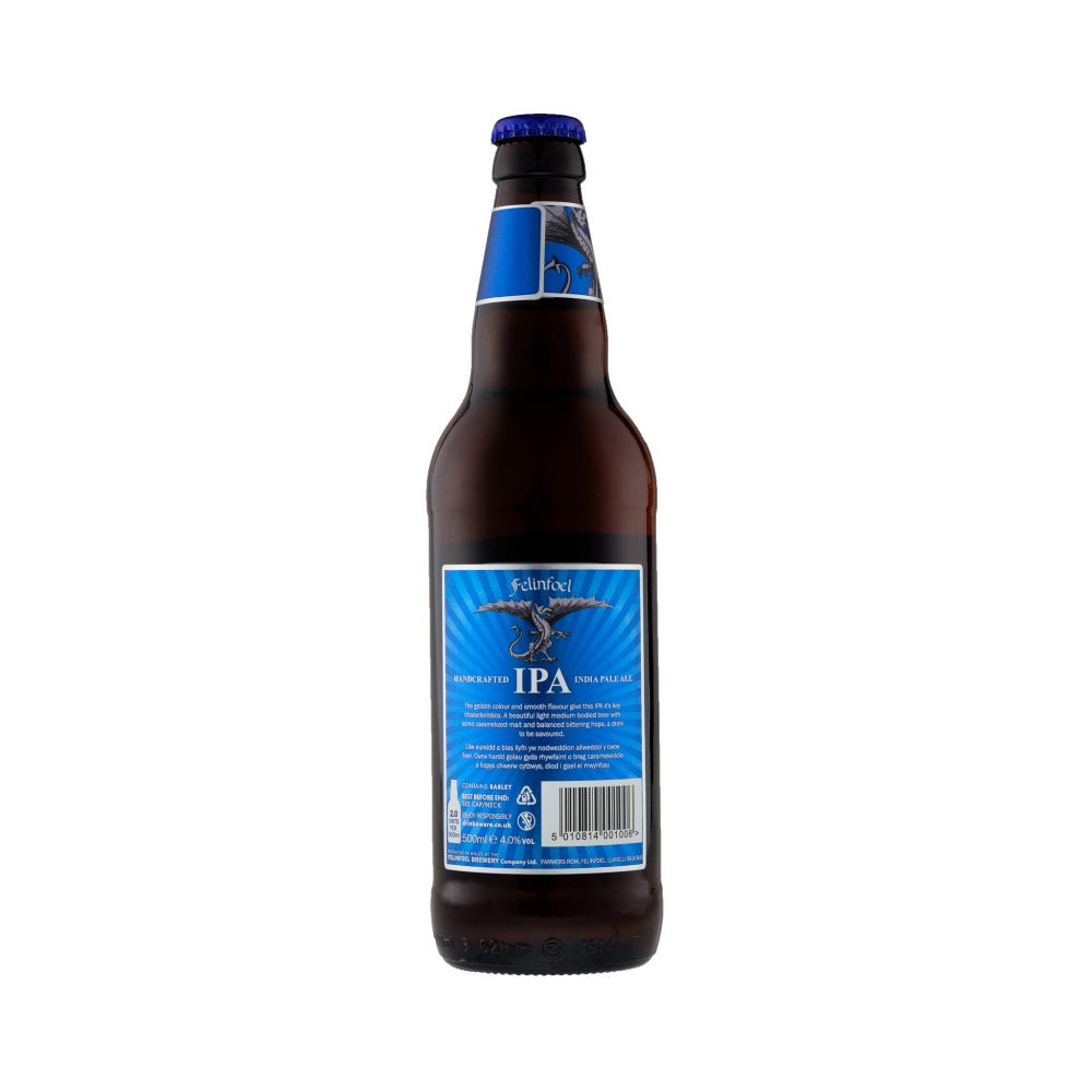 Felifoel IPA Bottle 2019 Back