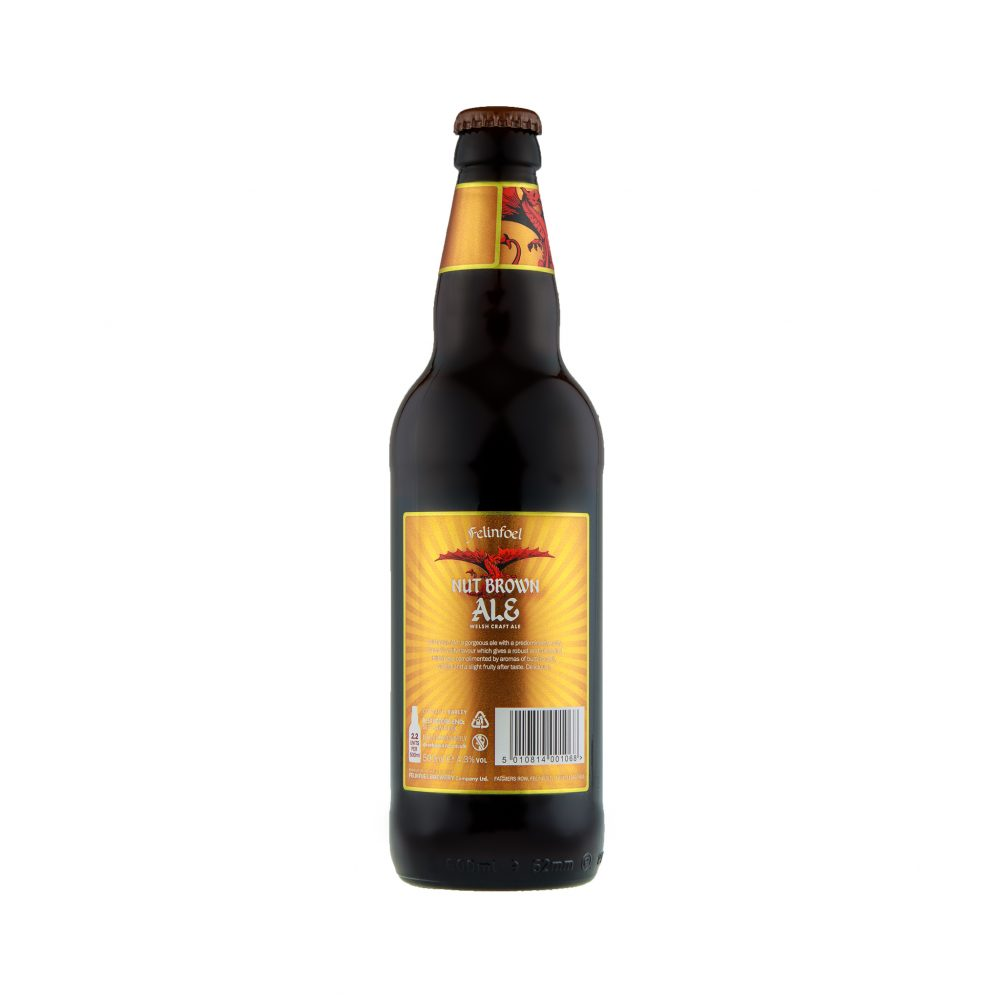 Felinfoel Nut Brown Ale Bottle Back