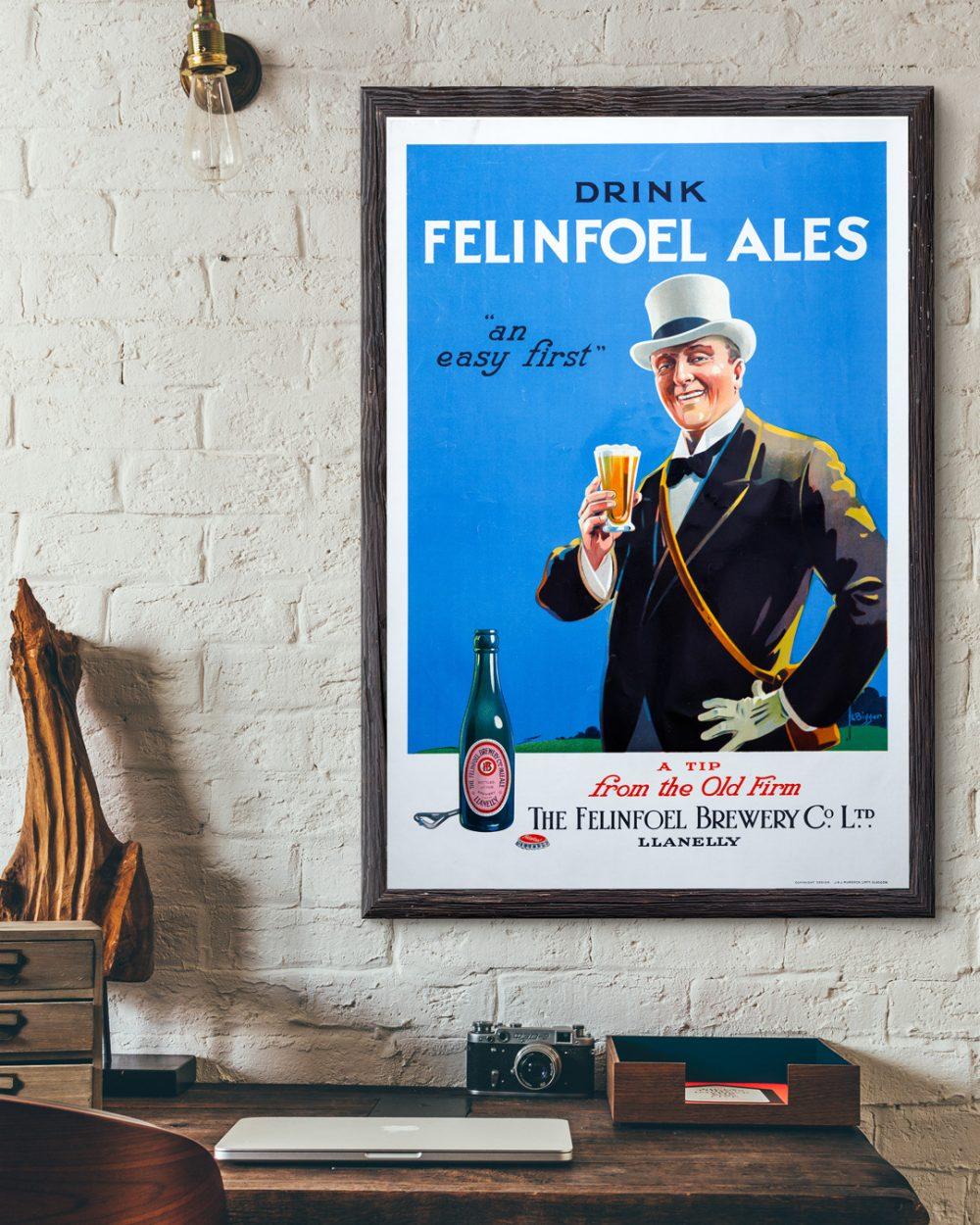 Vintage-Felinfoel-Poster-Desk